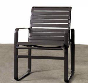 Straight Strap Vinyl Chair