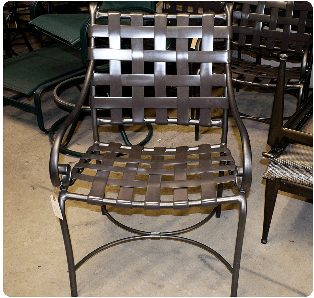 Chair-Care-vinyl-strap-Replacement & Photo Gallery - The Chair Care Company