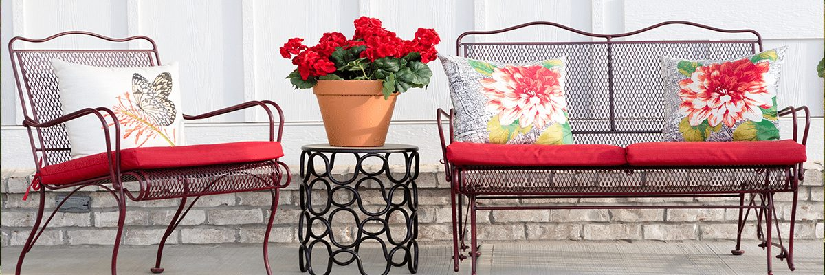 metal frame refinishing & Outdoor Patio Furniture Restoration and Repair - The Chair Care Co.